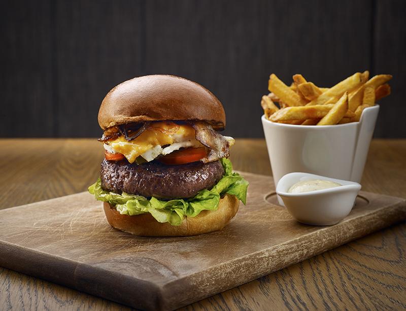 Bowery burger