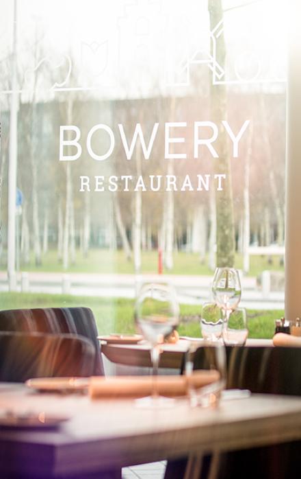 Bowery restaurant lokale producten