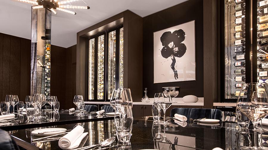 Boek een exclusief diner in de Vine Room