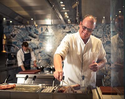 BOWERY Restaurant grill specialiteiten